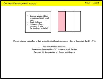Engage New York Math Grade 4 Module 5 Lesson 5 Smart Noteb