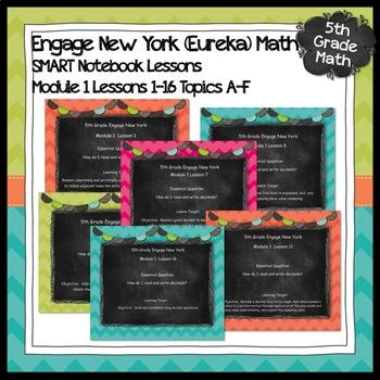 Engage New York (Eureka) Grade 5-Module 1 Bundle Topics A-F