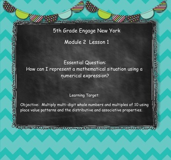 Engage New York (Eureka) Grade 5-Module 2 Topic A Lessons 1-2