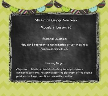 Engage New York (Eureka) Grade 5-Module 2 Topic G Lessons 24-27