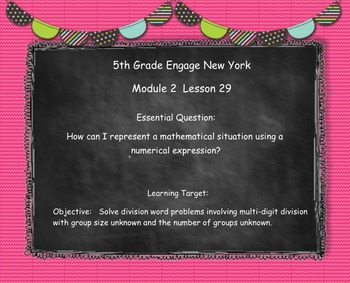 Engage New York (Eureka) Grade 5-Module 2 Topic H SMART Notebook