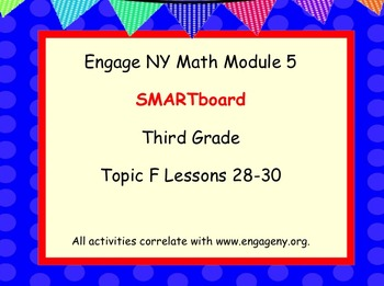 Engage Ny SMART board Third Grade Math Module 5 Topic F