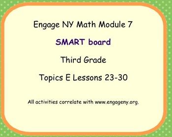 Engage Ny SMART board Third Grade Math Module 7 Topic E
