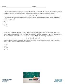 Engage Your Student! Augmented Reality 7th Grade Math - Sa