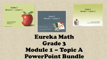 Eureka Math - 3rd Grade Module 1, Topic A PowerPoints