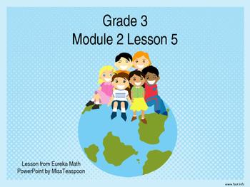 Eureka Math - 3rd Grade Module 2, Lesson 5 PowerPoint