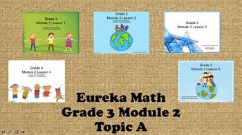 Eureka Math - 3rd Grade Module 2, Topic A PowerPoints