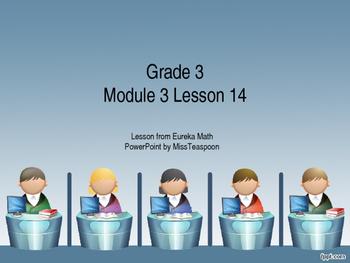 Eureka Math - 3rd Grade Module 3, Lesson 14 PowerPoint