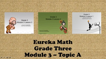 Eureka Math - 3rd Grade Module 3, Topic A PowerPoints