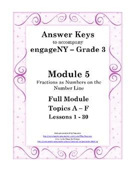 EngageNY - 3rd Grade Module 5 - Answer Keys (FULL MODULE)