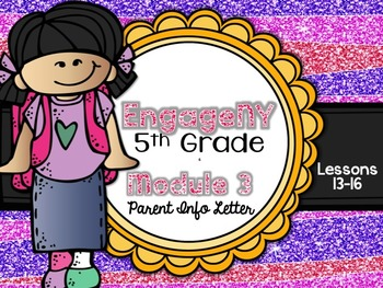 5th Grade EngageNY/Eureka Math - Module 3 - Lessons 13-16