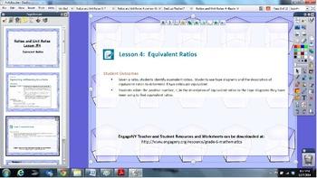EngageNY 6th grade Module 1 Lesson 4 ActivInspire Flipchar