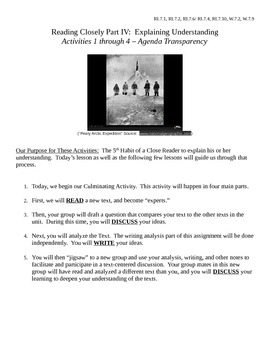 EngageNY 7th Grade ELA: Accompanying Student Packet - Part