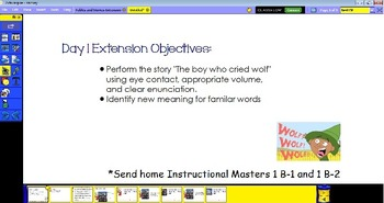 EngageNY ELA 1st grade Module 1 Part B (Extension) Flipboards