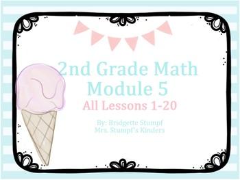 EngageNY Eureka 2nd Grade Math Module 5 All Topics Lessons 1-20