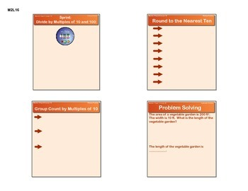 EngageNY GRADE 5 Module 2 Lesson 16