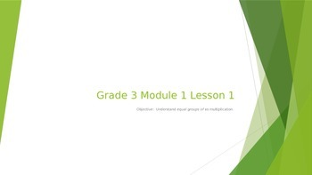 EngageNY Grade 3 Module 1 Lesson 1