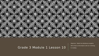 EngageNY Grade 3 Module 1 Lesson 10