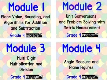 EngageNY Grade 4 Modules 1-7 Flipchart Bundle