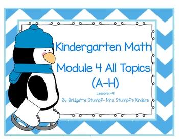EngageNY Eureka Kindergarten Math Module 4 All Topics Less