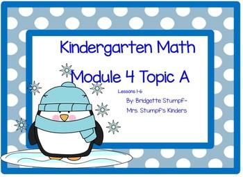 EngageNY Eureka Kindergarten Math Module 4 Topic A Lessons 1-6