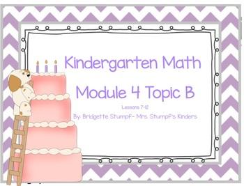 EngageNY Eureka Kindergarten Math Module 4 Topic B Lessons 7-12