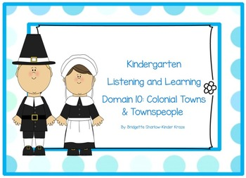 EngageNY Listening and Learning Kindergarten Domain 10: Co
