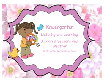 EngageNY Listening and Learning Kindergarten Domain 8: Sea