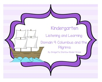 EngageNY Listening and Learning Kindergarten Domain 9: Col