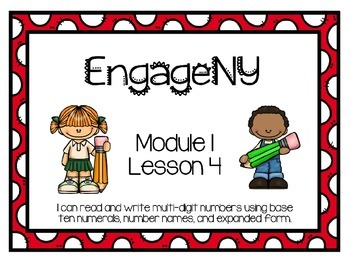 EngageNY Math 4th Grade Module 1, Lesson 4