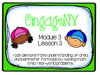 EngageNY Math 4th Grade Module 3, Lesson 3