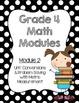 EngageNY Math Module Binder Covers {Grade 4}