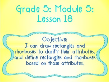 EngageNY PowerPoint Presentations Fifth Grade: Module 5 Le