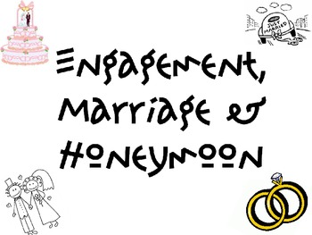 Engagement, Marriage & Honeymoon Powerpoint for FCS Interp