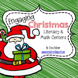 Engaging Christmas Literacy and Math Centers