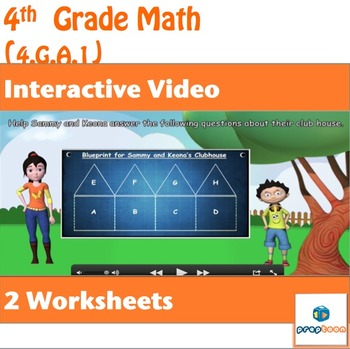 Common Core Math Activity-Identify points,lines,angles in