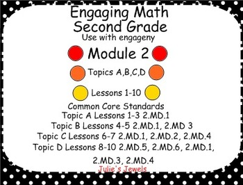 Engage NY Math Module 2 for Second Grade Smart Board