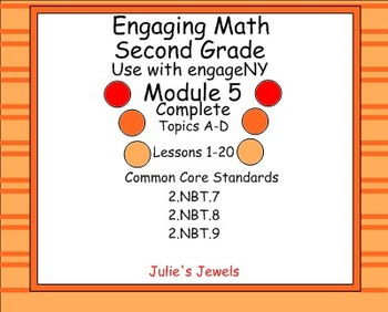 Engage NY Math Module 5 Complete for Second Grade Smart Bo
