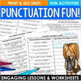 Punctuation Matters!  Fun with Punctuation and Sentence Ty
