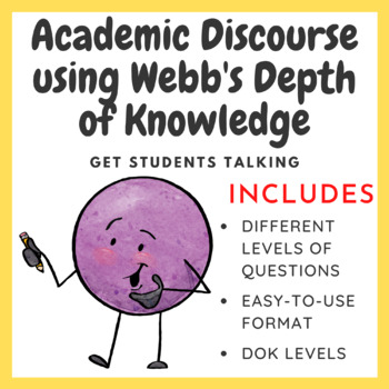 Engaging Students in Conversations using Webb's Depth of K