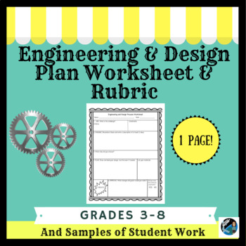 Engineering & Design Plan with Rubric for STEM Challenges