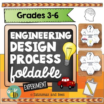 Engineering Design Process-Interactive Science Notebook foldable