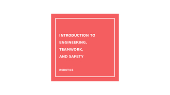 Engineering PowerPoint: Teamwork, Safety, and Underwater R