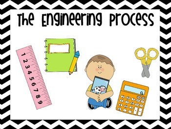 Engineering Process Fun Chevron Posters