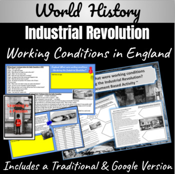 England: What were the working conditions of the Industria