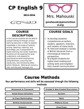 English 9 Course Syllabus