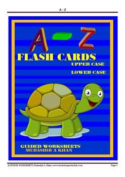 English Alphabets FLASH CARDS