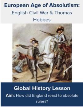 English Civil War & Thomas Hobbes