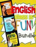 English Class is Fun Bundle! ELA Grades 7-12: Lessons, Vid