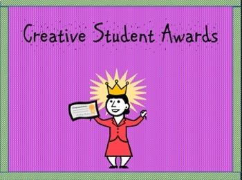 English Creative Student Awards/Premios para alumnos creativos